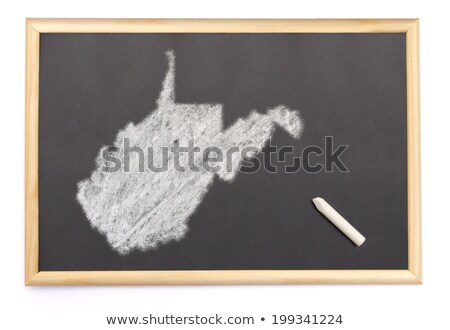 Virginie-Occidentale · carte · blanche - photo stock © vepar5