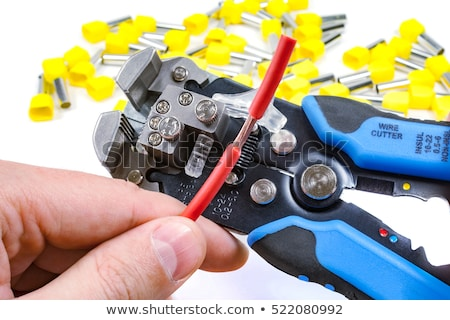 automatic Wire stripper on white background Stock photo © pxhidalgo