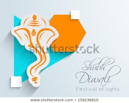 美しい カラフル ランプ 礼拝 祈る 成功 ストックフォト © bharat