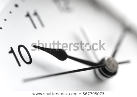 close up of the face of an antique grandfather clock stock photo © latent