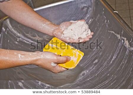 Сток-фото: колбаса · мяса · подготовленный · стороны · продовольствие · работу