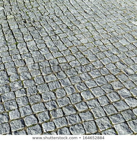 granito · escuro · cubo · sombra · isolado · pedra - foto stock © meinzahn