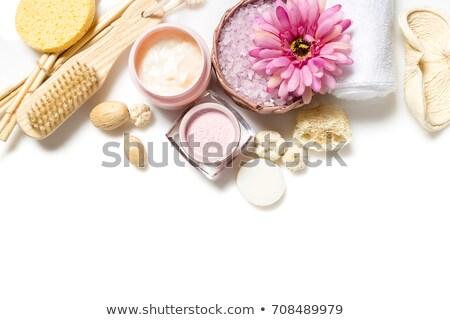 naturelles · jaune · spa · nature · bien-être · fleurs · sauvages - photo stock © karandaev