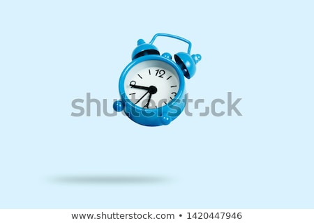Clock floating on the air Stock photo © devon