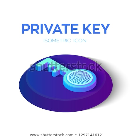 Shield with key and key service Stock photo © Ustofre9