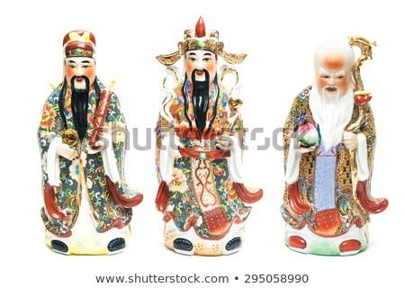 Fu Lu Shou Lucky Gods Stock photo © cteconsulting