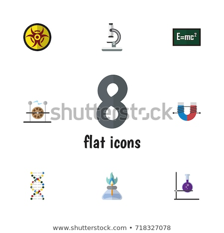 science instruments square vector yellow icon design set stock photo © rizwanali3d