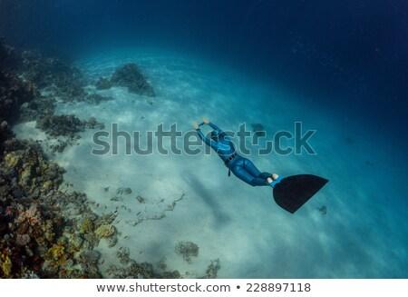 apnea fins Stock photo © kovacevic