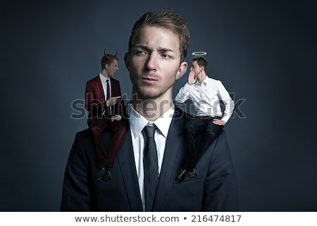 Guilty man with a conscience Stock photo © ozgur