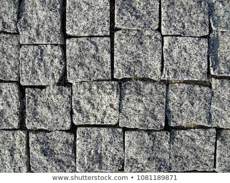 Granite cobblestones Stock photo © guillermo