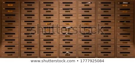 cartas · 3d · render · caixa · e-mail · caixa · de · correio - foto stock © digifoodstock