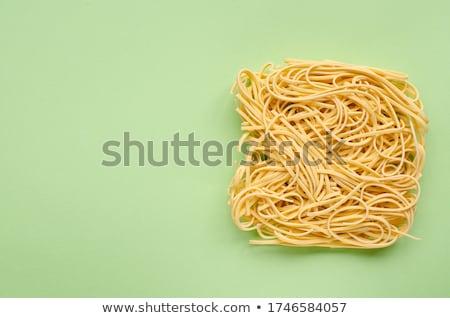 Essiccati uovo metal ciotola pasta Foto d'archivio © Digifoodstock