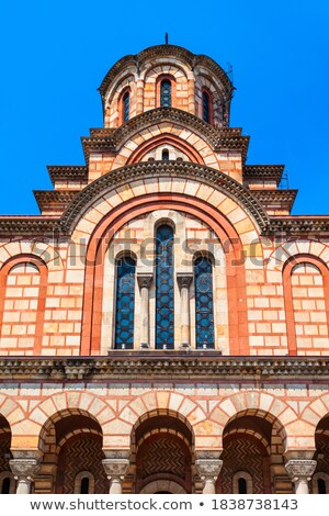 Saint Marco cathedral in Belgrade Stock photo © simply