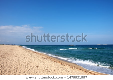 Nature scene with ocean at daytime Stock photo © bluering