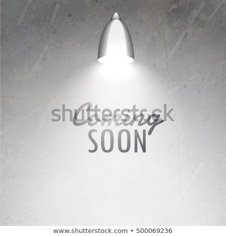 в · ближайшее · время · скоро · красный · текста · черный - Сток-фото © sarts
