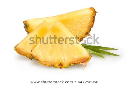 Fresh pineapple wedges Stock photo © Digifoodstock