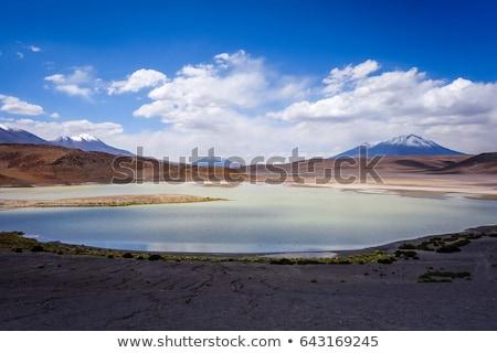 ボリビア 空 太陽 自然 風景 砂漠 ストックフォト © daboost