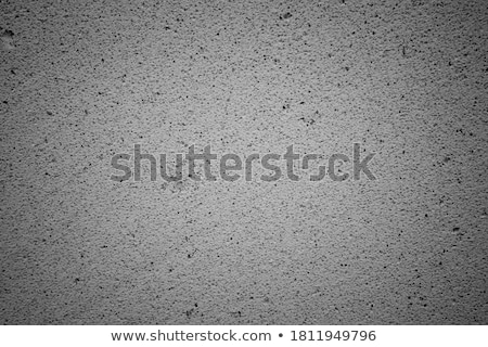 Grainy Rough Textured Surface Cinder Block Wall Stock photo © Qingwa