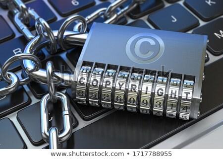 Exclusive on Keyboard Key Concept. Stock photo © tashatuvango