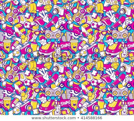 colorato · diagonale · linee · abstract · texture · sfondo - foto d'archivio © studioworkstock