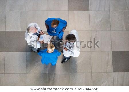 laboratorium · gang · lege · kantoor · huis · gebouw - stockfoto © wavebreak_media