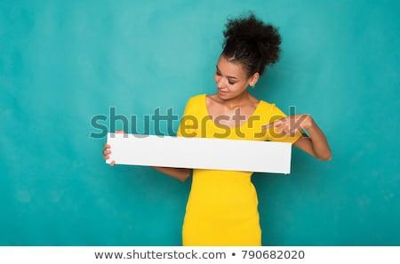 mulher · bonita · azul · vestido · preto · posando · branco · piano - foto stock © acidgrey