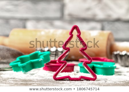 christmas cookies cutters stock photo © homydesign