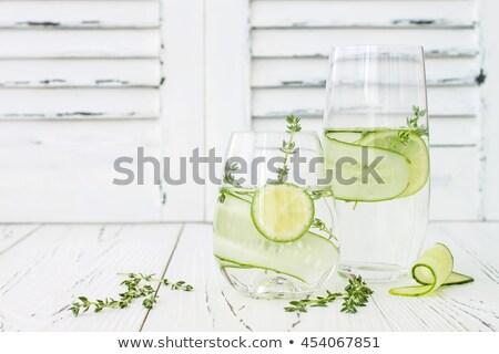 vers · water · citroen · oranje - stockfoto © maxsol7