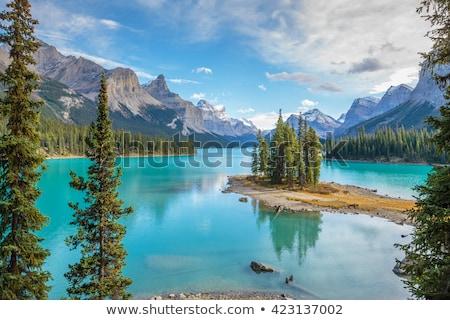 Pyramid Lake in Jasper National Park  Stock photo © benkrut