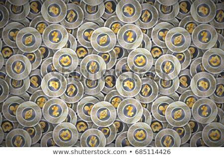 ロゴ · アイコン · グレー · バーチャル · 通貨 · ベクトル - ストックフォト © robuart
