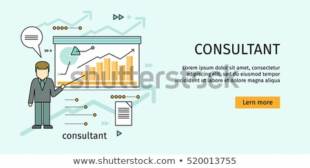 Infographics and Schemes, Whiteboard Presentation Stock photo © robuart