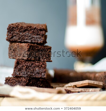 Fresh baked chokolate cookies Stock photo © marylooo