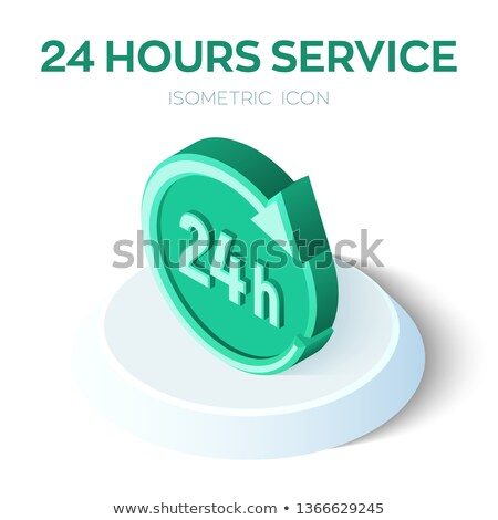 24 день службе бизнеса часы Сток-фото © SArts