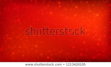 Kış kar taneleri kırmızı doku ışık sanat Stok fotoğraf © lemony