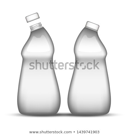 Blank Rinsing Machine Clean Plastic Bottle Vector Stock photo © pikepicture