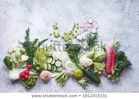 Eating Plant Based Food Stock photo © Lightsource