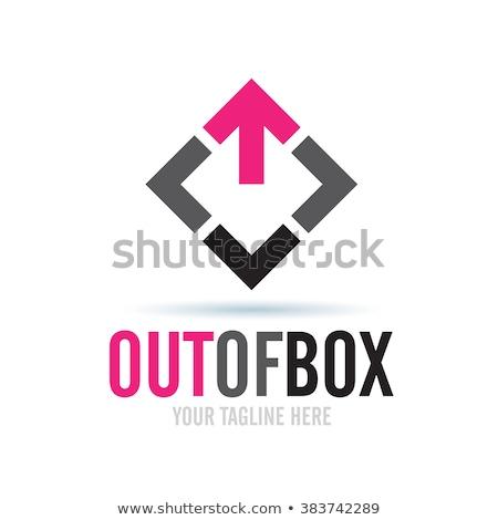 Quebra-cabeça logotipo negócio infográficos 3D ícone Foto stock © rwgusev