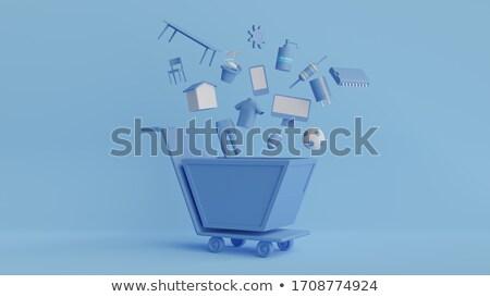szett · betűk · vektor · bolt · sablonok · stílus - stock fotó © decorwithme