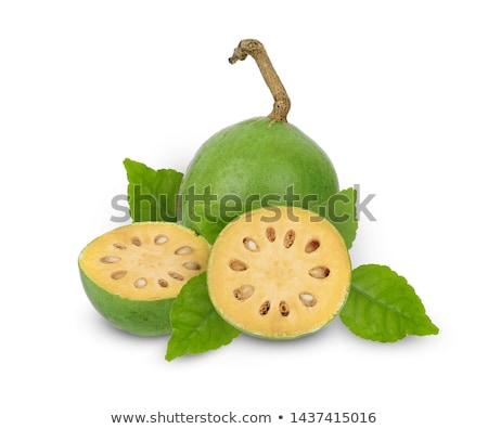 Fruto subcontinente indiano concha branco suco Foto stock © bdspn