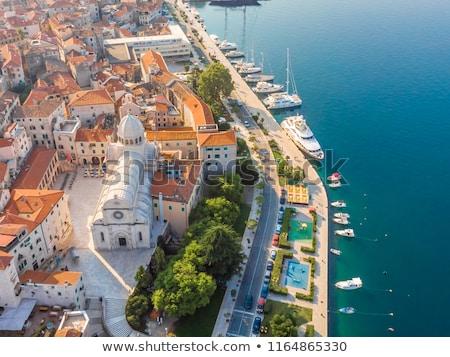 Catedral Croácia basílica cidade fachada mundo Foto stock © borisb17