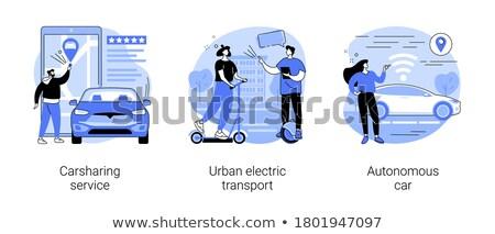 Autonomous transport vector concept metaphors Stock photo © RAStudio