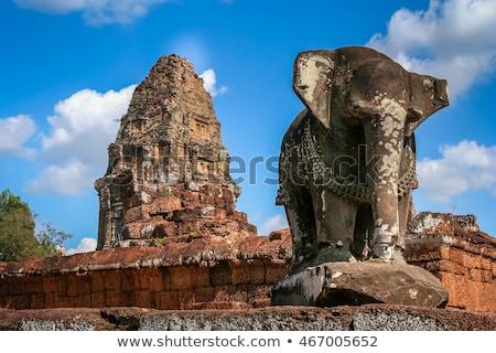 寺 アンコールワット 複雑な カンボジア 夏 日 ストックフォト © bloodua