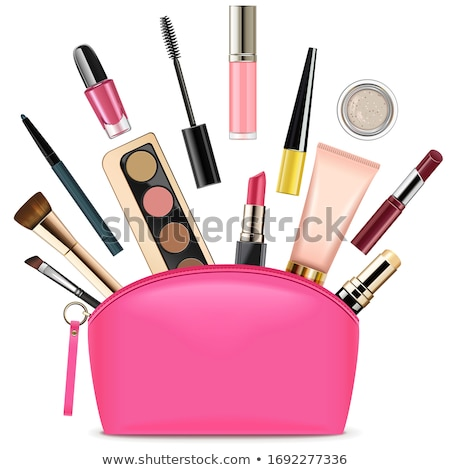 Vector Rose Beautician with Cosmetics Stock photo © dashadima