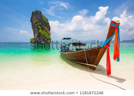 Sziget Thaiföld panoráma nyár nap tengerpart Stock fotó © bloodua