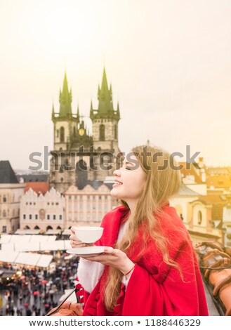 Prague. Old architecture, charming buildings Stock photo © photocreo