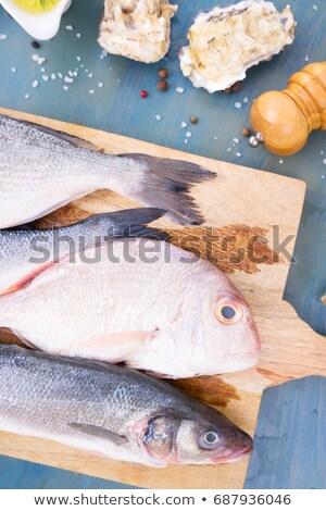 choise of fresh fish Stock photo © neirfy