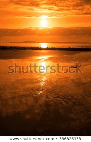ballybunion golden sunset Stock photo © morrbyte