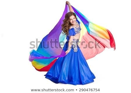 barriga · dançarina · belo · exótico · mulher · dançar - foto stock © nobilior