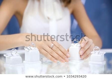 pas · cher · bijoux · contre · magasin · design · fond - photo stock © pzaxe