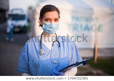 портрет · здоровья · рабочие · человека · медицинской · волос - Сток-фото © photography33
